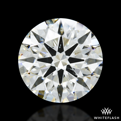 1.874 ct I SI1 A CUT ABOVE® Hearts and Arrows Super Ideal Round Cut Loose Diamond