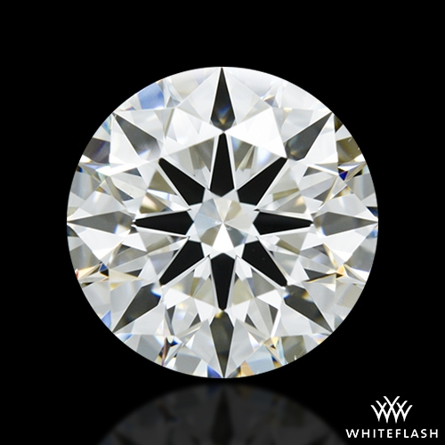 2.664 ct H VS2 A CUT ABOVE® Hearts and Arrows Super Ideal Round Cut Loose Diamond