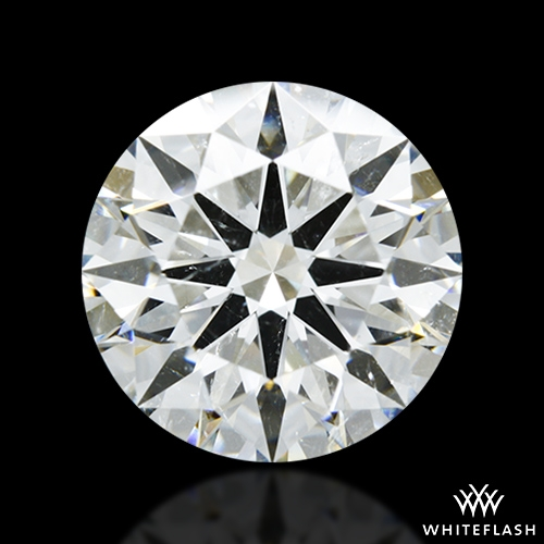 2.664 ct H SI2 A CUT ABOVE® Hearts and Arrows Super Ideal Round Cut Loose Diamond