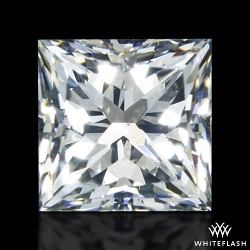 0.816 ct F VS2 A CUT ABOVE® Princess Super Ideal Cut Diamond