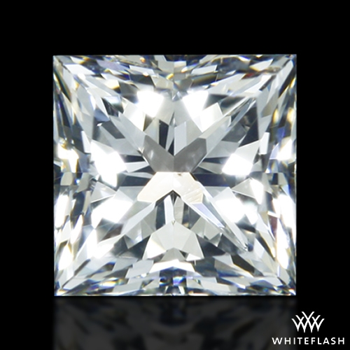 0.816 ct F VS2 A CUT ABOVE® Princess Super Ideal Cut Diamond