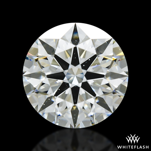 1.087 ct I SI1 A CUT ABOVE® Hearts and Arrows Super Ideal Round Cut Loose Diamond
