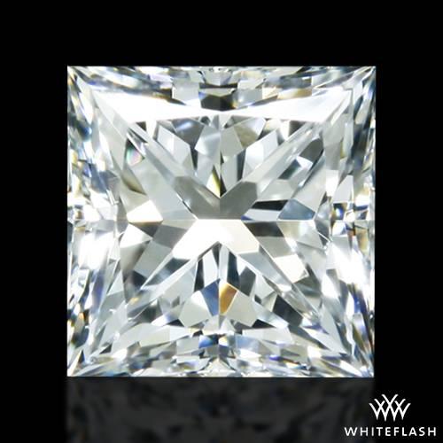 0.518 ct G VS2 A CUT ABOVE® Princess Super Ideal Cut Diamond