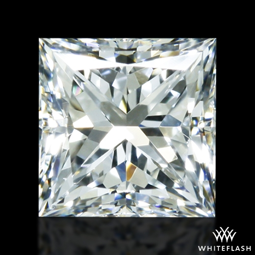 0.518 ct G VS2 A CUT ABOVE® Princess Super Ideal Cut Diamond