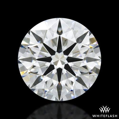 0.707 ct E VS2 A CUT ABOVE® Hearts and Arrows Super Ideal Round Cut Loose Diamond