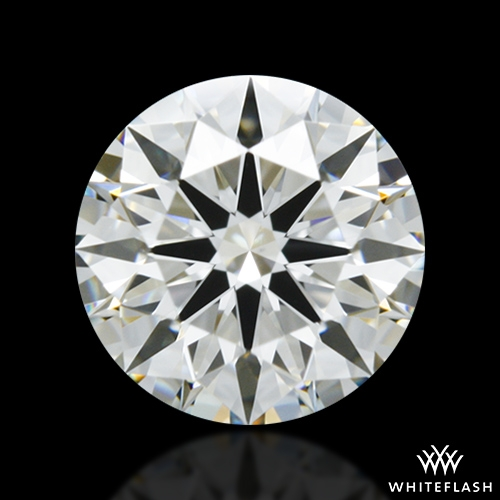 0.724 ct I VS2 A CUT ABOVE® Hearts and Arrows Super Ideal Round Cut Loose Diamond