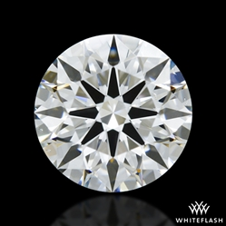 0.844 ct F VS2 A CUT ABOVE® Hearts and Arrows Super Ideal Round Cut Loose Diamond