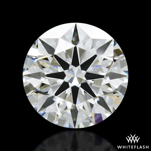 0.885 ct H VS1 A CUT ABOVE® Hearts and Arrows Super Ideal Round Cut Loose Diamond