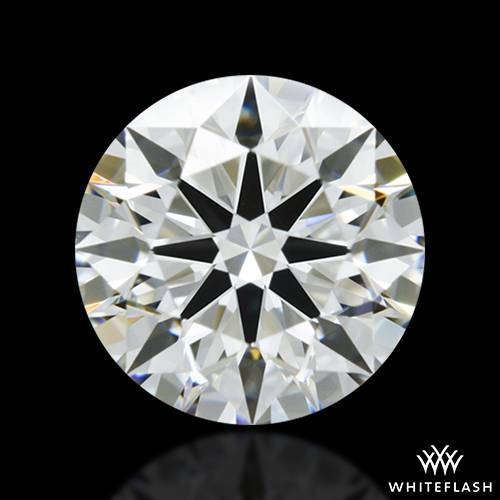0.886 ct H VS1 A CUT ABOVE® Hearts and Arrows Super Ideal Round Cut Loose Diamond