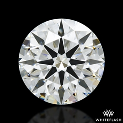 0.913 ct H SI1 A CUT ABOVE® Hearts and Arrows Super Ideal Round Cut Loose Diamond