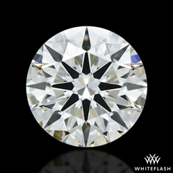 1.013 ct J VS2 A CUT ABOVE® Hearts and Arrows Super Ideal Round Cut Loose Diamond
