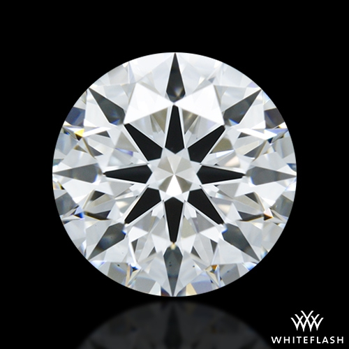 1.292 ct F VS1 A CUT ABOVE® Hearts and Arrows Super Ideal Round Cut Loose Diamond