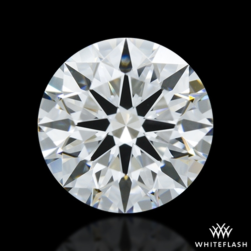 1.272 ct F VS1 A CUT ABOVE® Hearts and Arrows Super Ideal Round Cut Loose Diamond