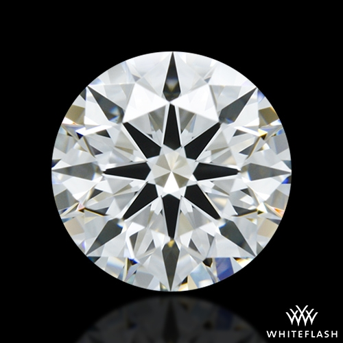 1.262 ct H VS1 A CUT ABOVE® Hearts and Arrows Super Ideal Round Cut Loose Diamond