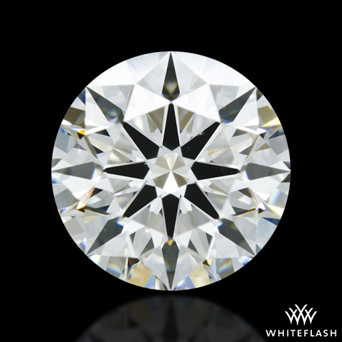 1.243 ct J VS2 A CUT ABOVE® Hearts and Arrows Super Ideal Round Cut Loose Diamond