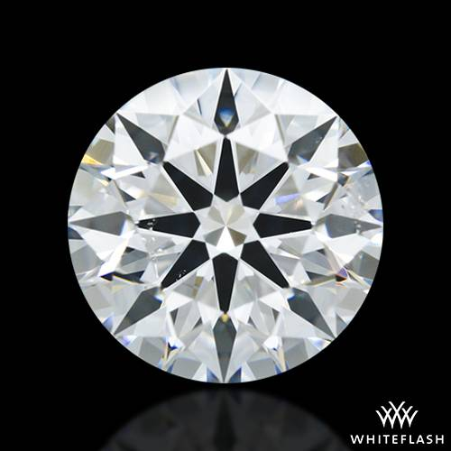 1.685 ct H SI2 A CUT ABOVE® Hearts and Arrows Super Ideal Round Cut Loose Diamond