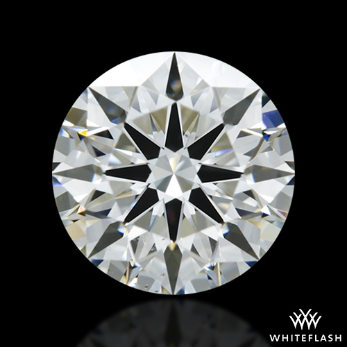 1.551 ct J VS2 A CUT ABOVE® Hearts and Arrows Super Ideal Round Cut Loose Diamond