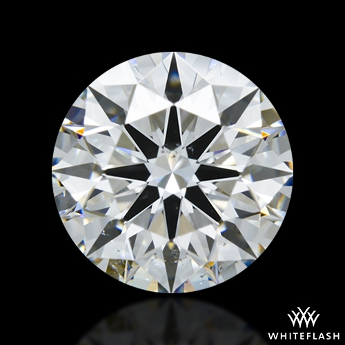 1.158 ct F SI1 A CUT ABOVE® Hearts and Arrows Super Ideal Round Cut Loose Diamond
