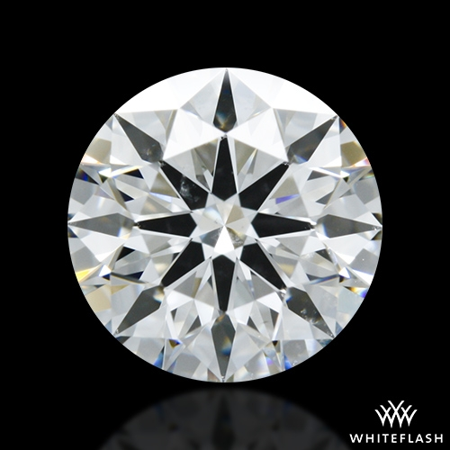 1.136 ct G SI1 A CUT ABOVE® Hearts and Arrows Super Ideal Round Cut Loose Diamond