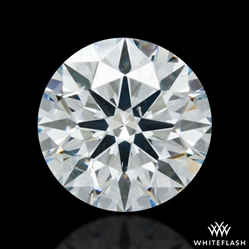 0.918 ct H SI1 A CUT ABOVE® Hearts and Arrows Super Ideal Round Cut Loose Diamond