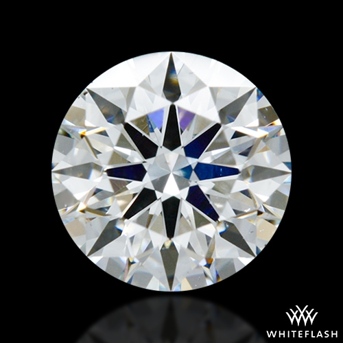 0.925 ct G SI1 A CUT ABOVE® Hearts and Arrows Super Ideal Round Cut Loose Diamond