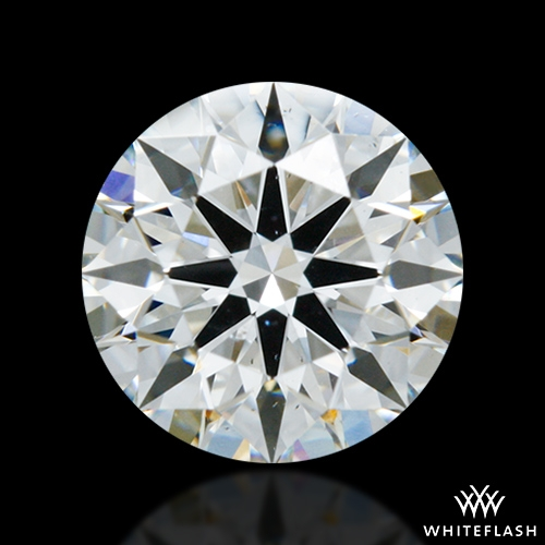 0.922 ct G SI1 A CUT ABOVE® Hearts and Arrows Super Ideal Round Cut Loose Diamond