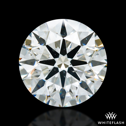 1.204 ct F SI1 A CUT ABOVE® Hearts and Arrows Super Ideal Round Cut Loose Diamond