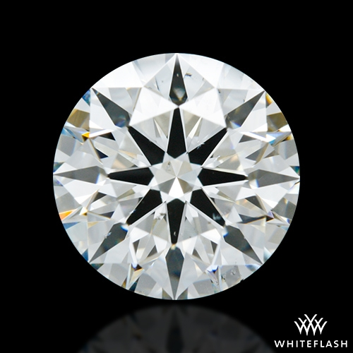 2.294 ct H SI1 A CUT ABOVE® Hearts and Arrows Super Ideal Round Cut Loose Diamond