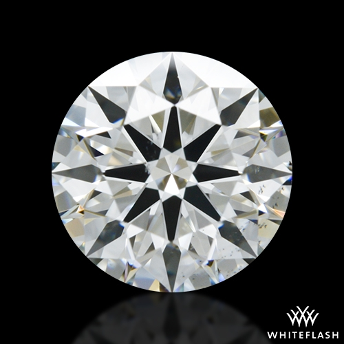 1.09 ct G SI1 A CUT ABOVE® Hearts and Arrows Super Ideal Round Cut Loose Diamond
