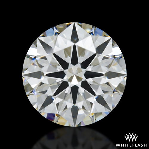 1.316 ct G VVS2 A CUT ABOVE® Hearts and Arrows Super Ideal Round Cut Loose Diamond
