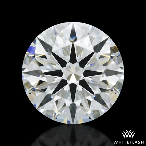 1.301 ct F VS1 A CUT ABOVE® Hearts and Arrows Super Ideal Round Cut Loose Diamond