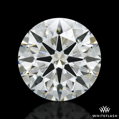 1.306 ct H VS2 A CUT ABOVE® Hearts and Arrows Super Ideal Round Cut Loose Diamond