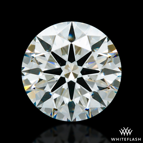 1.296 ct H VS2 A CUT ABOVE® Hearts and Arrows Super Ideal Round Cut Loose Diamond
