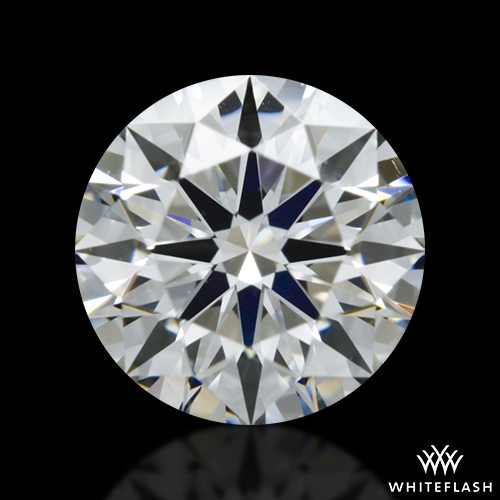 0.504 ct F VVS2 A CUT ABOVE® Hearts and Arrows Super Ideal Round Cut Loose Diamond