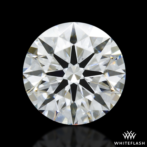 0.555 ct D VS2 A CUT ABOVE® Hearts and Arrows Super Ideal Round Cut Loose Diamond