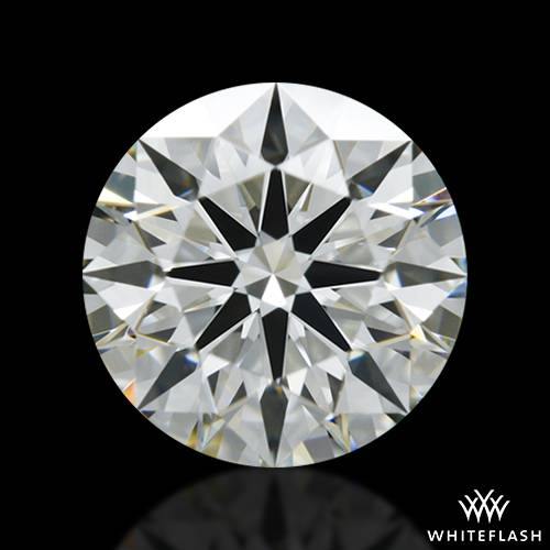 0.913 ct J VS1 A CUT ABOVE® Hearts and Arrows Super Ideal Round Cut Loose Diamond