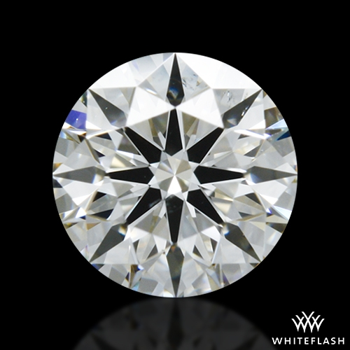 0.554 ct I SI1 A CUT ABOVE® Hearts and Arrows Super Ideal Round Cut Loose Diamond