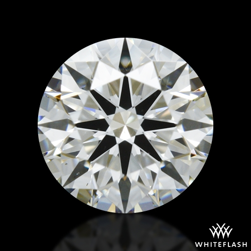 0.522 ct H VS2 A CUT ABOVE® Hearts and Arrows Super Ideal Round Cut Loose Diamond