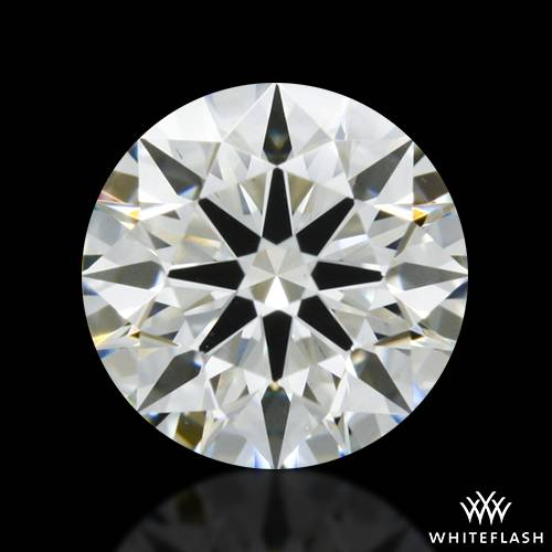 0.432 ct I VS2 A CUT ABOVE® Hearts and Arrows Super Ideal Round Cut Loose Diamond