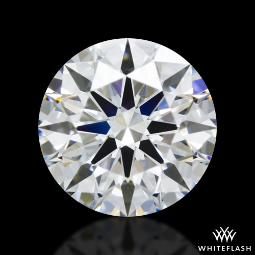 0.744 ct D VVS1 A CUT ABOVE® Hearts and Arrows Super Ideal Round Cut Loose Diamond