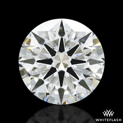 0.825 ct H SI1 A CUT ABOVE® Hearts and Arrows Super Ideal Round Cut Loose Diamond