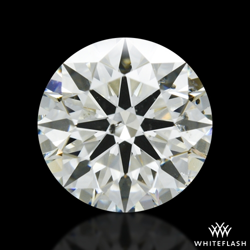 1.073 ct K SI2 A CUT ABOVE® Hearts and Arrows Super Ideal Round Cut Loose Diamond