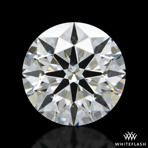1.233 ct G SI1 A CUT ABOVE® Hearts and Arrows Super Ideal Round Cut Loose Diamond