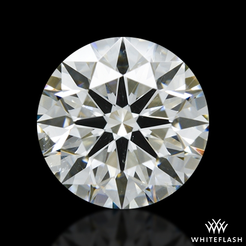 1.328 ct I SI1 A CUT ABOVE® Hearts and Arrows Super Ideal Round Cut Loose Diamond