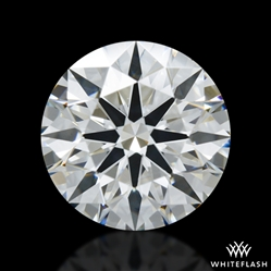 1.345 ct H VS2 A CUT ABOVE® Hearts and Arrows Super Ideal Round Cut Loose Diamond