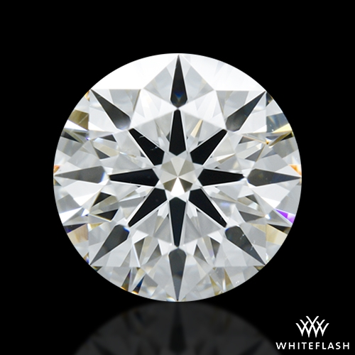 1.372 ct H SI1 A CUT ABOVE® Hearts and Arrows Super Ideal Round Cut Loose Diamond