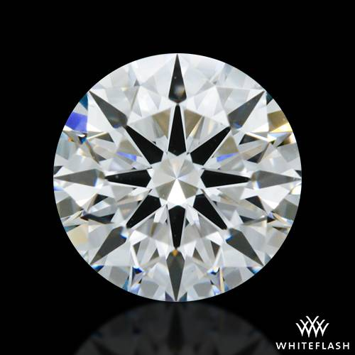 0.815 ct D SI1 A CUT ABOVE® Hearts and Arrows Super Ideal Round Cut Loose Diamond