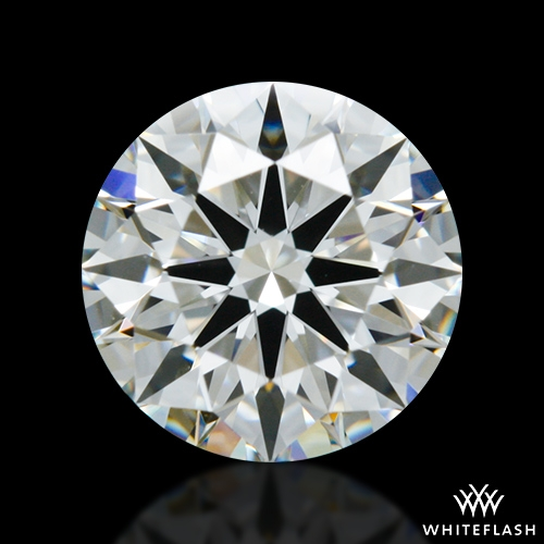 0.903 ct H VS1 A CUT ABOVE® Hearts and Arrows Super Ideal Round Cut Loose Diamond