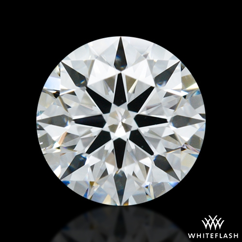 0.80 ct D SI1 A CUT ABOVE® Hearts and Arrows Super Ideal Round Cut Loose Diamond