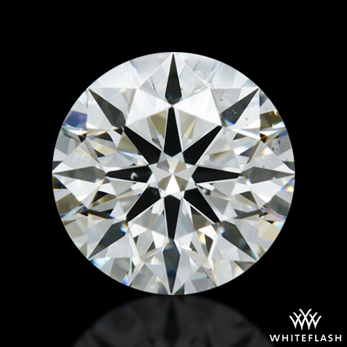 0.848 ct H VS2 A CUT ABOVE® Hearts and Arrows Super Ideal Round Cut Loose Diamond